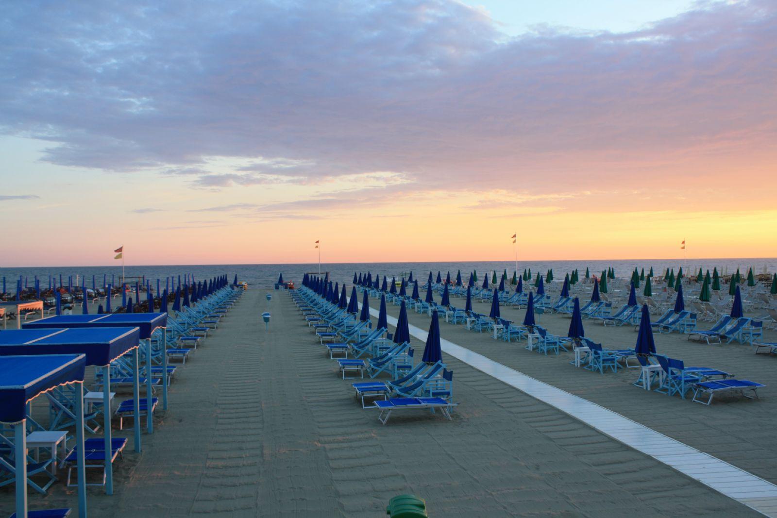 Amelia Beach Club, Viareggio, Tuscany